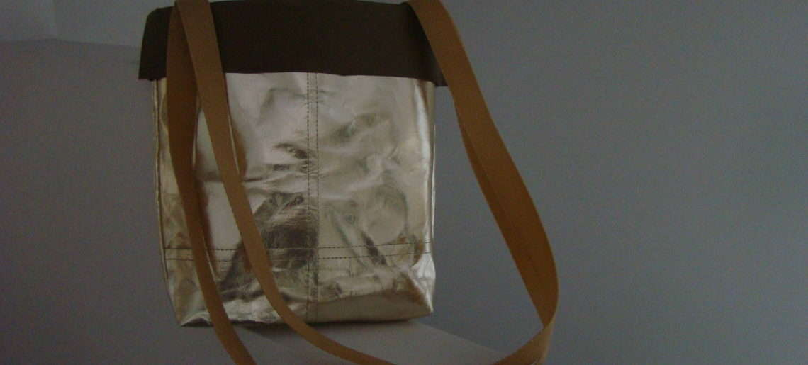 DIY na letnią torebkę z WASHPAPY / Washable Kraft Paper