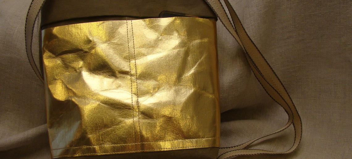 DIY na torebkę z WASHPAPY / WASHABLE kraft paper model AGATKA