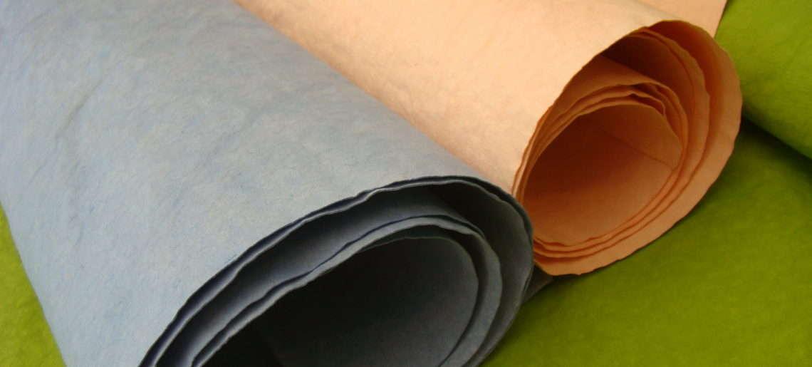 TEST prania WASHPAPY / washable kraft paper AGED COLOR. Co z tym kolorem?