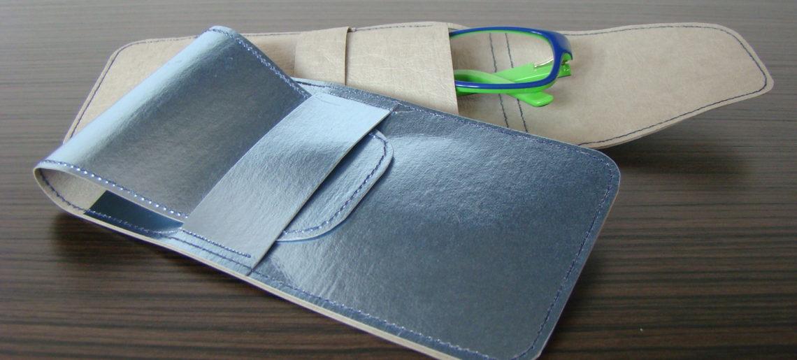 Jak uszyć etui na okulary z WASHPAPA / WASHABLE kraft paper